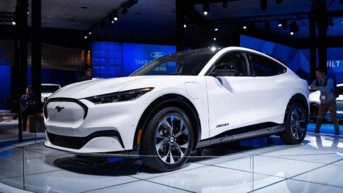 Ford Mustang Mach-E уже можно купить вкредит