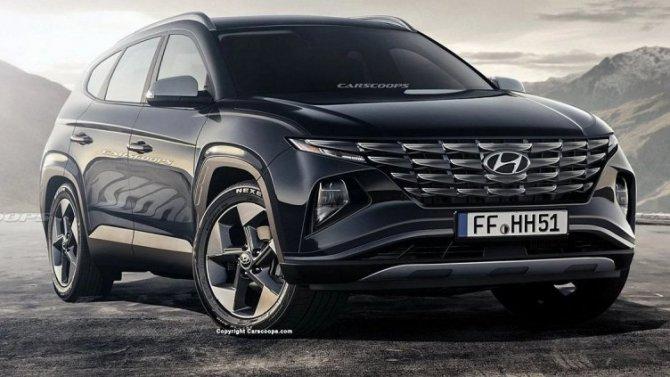 Новый Hyundai Tucson получит «планшет» встиле Tesla