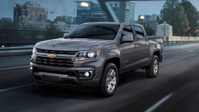 Пикап Chevrolet Colorado получил «омолаживающий» тюнинг