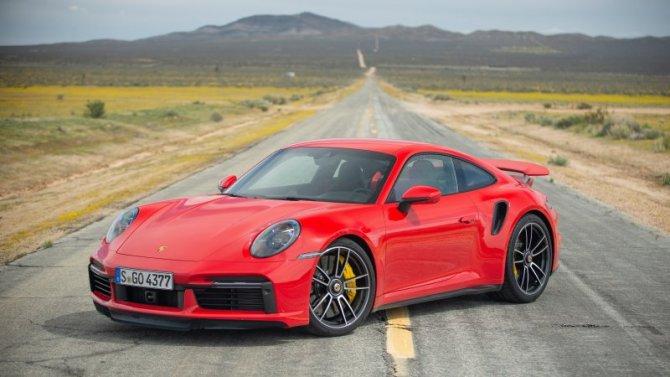 ВРоссии сертифицирован новый Porsche 911 Turbo