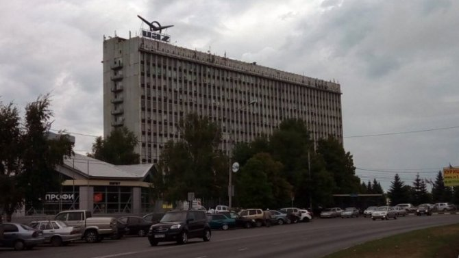 УАЗ продал своё главное здание