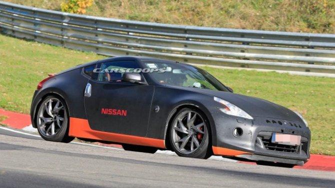 Новый Nissan 400Z станет гибридным