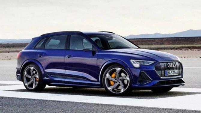 Электромобили Audi е-Тron получат «заряженные» версии