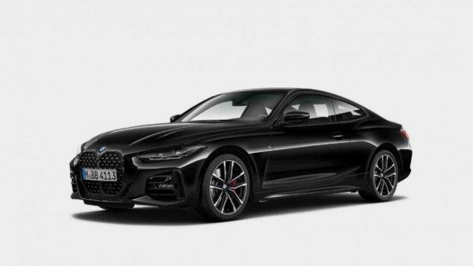 В Россию приехала спецверсия BMW 4-Series Coupe