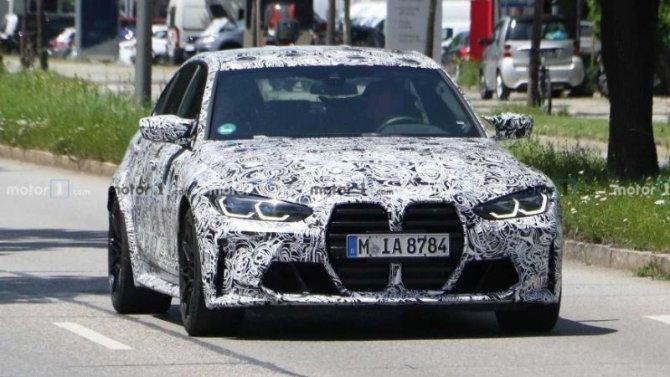 Наиспытания выехал обновлённый BMW M3