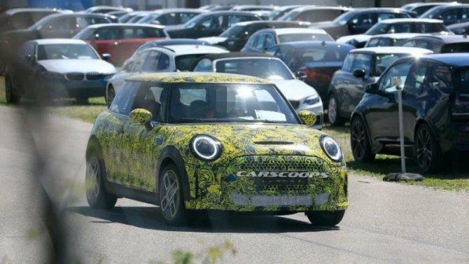 Обновлён электромобиль Mini CooperSE