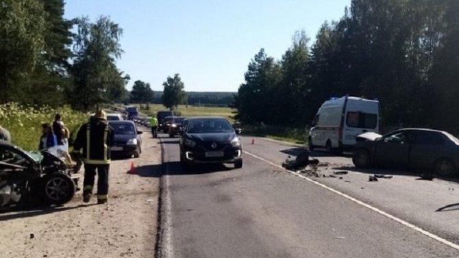 В ДТП в Ковровском районе Владимирской области погиб человек