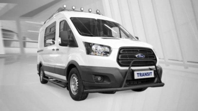 Ford Transit получил модификацию для охотников ирыбаков