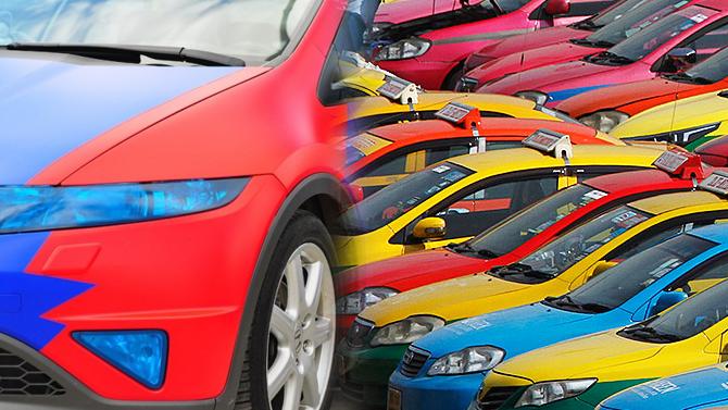 Выяснилось, какой цвет автомобиля самый популярный вРоссии— иэто нечерный