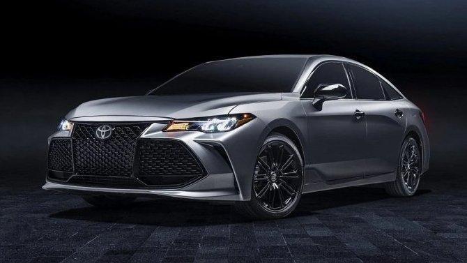 Обновлён седан Toyota Avalon