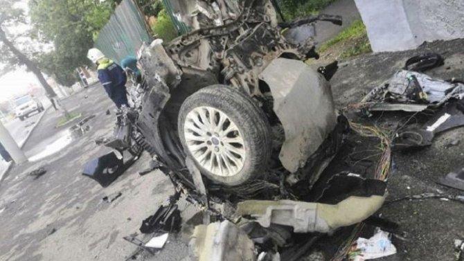 Мужчина и женщина погибли в ДТП в центре Владимира