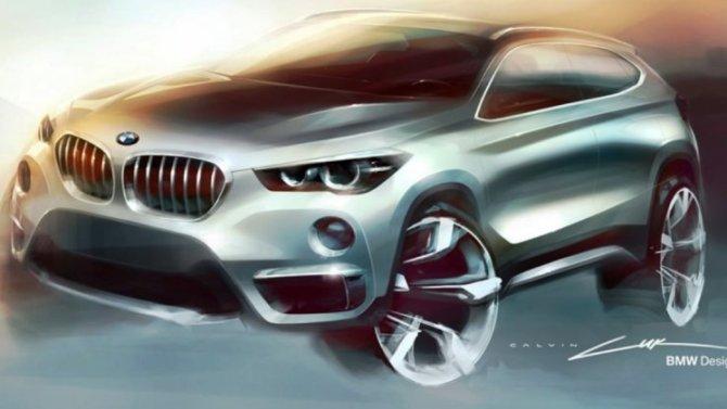 Кроссовер BMW Х1 получит модификацию с электроприводом