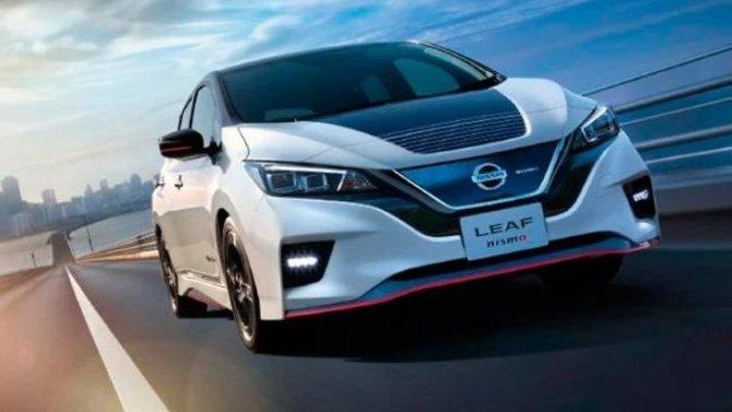 Обновлённый Nissan Leaf Nismo внешне никак не изменился