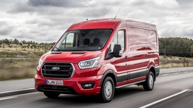 Ford Transit остаётся лидером попродажам иностранных LCV