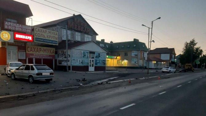 В Сорочинске в ДТП пострадали два человека