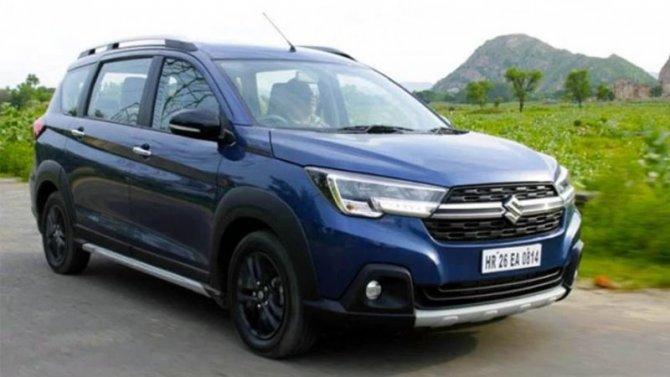 Начат экспорт кроссовера Suzuki XL6