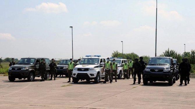 УАЗы будут служить всербской армии