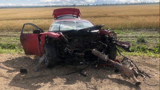Два человека погибли в ДТП в Усольском районе Иркутской области
