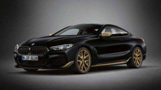 Известны рублёвые цены на«золотое» исполнение BMW 8-Series