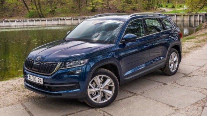 В России отзывают кроссоверы Skoda и Volkswagen