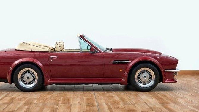Aston Martin AMV8 Дэвида Бекхэма выставлен напродажу