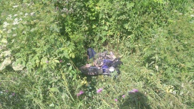 В ДТП в Куньинском районе погиб водительмопеда