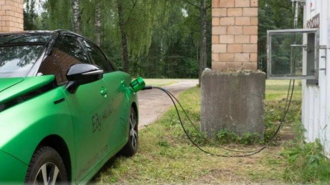ВРоссии появилась первая водородная автозаправка