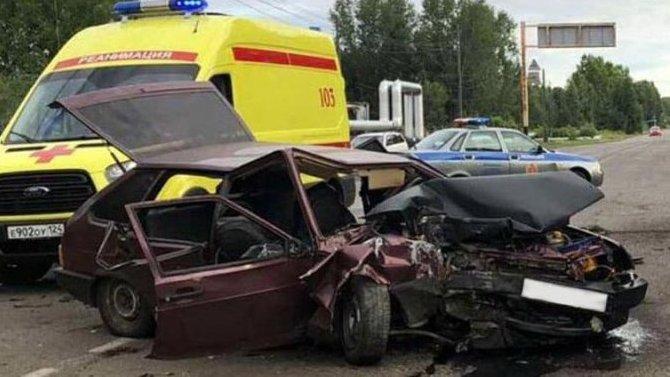 Подросток погиб в ДТП в Красноярском крае