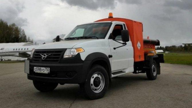 Набазе «УАЗ Профи» создан новый топливозаправщик