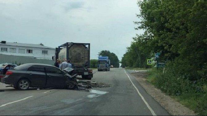 19-летний водитель погиб в ДТП в Новомосковске