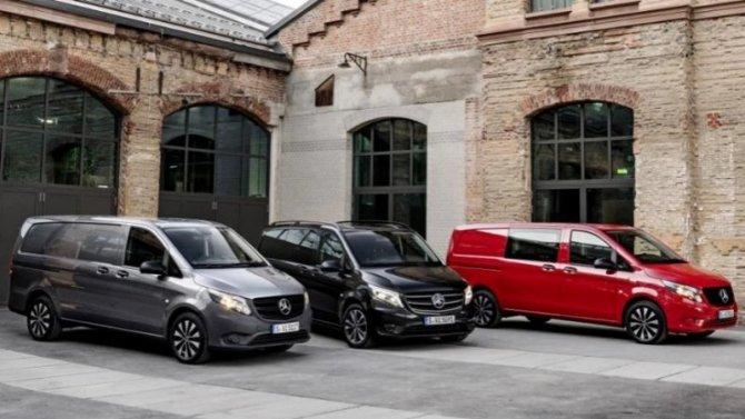 ВРоссии появился обновлённый Mercedes-Benz Vito