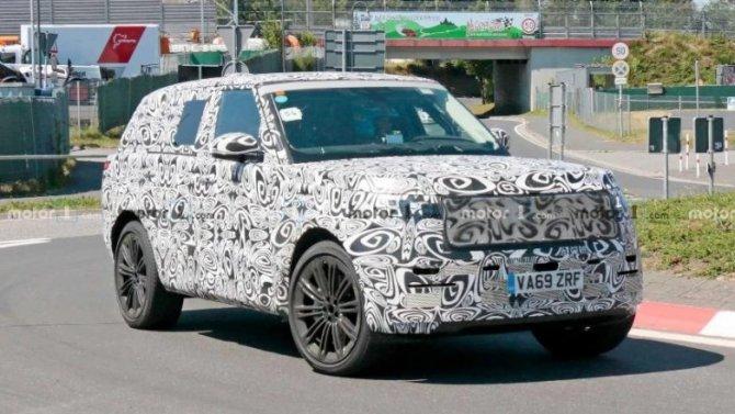 На «Нюрбургринге» появился новый Range Rover