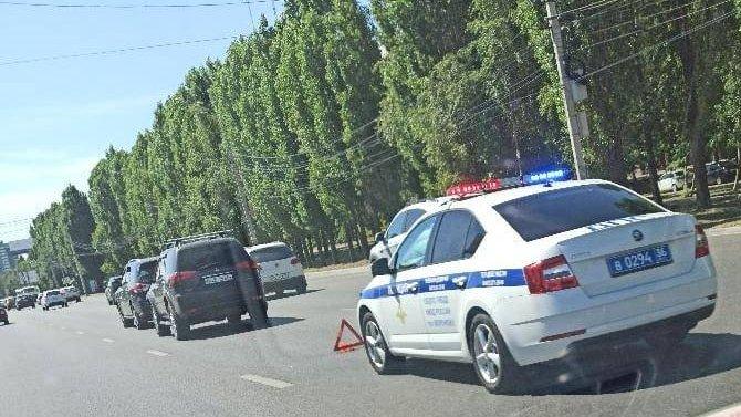 Двое детей пострадали в ДТП в Воронеже