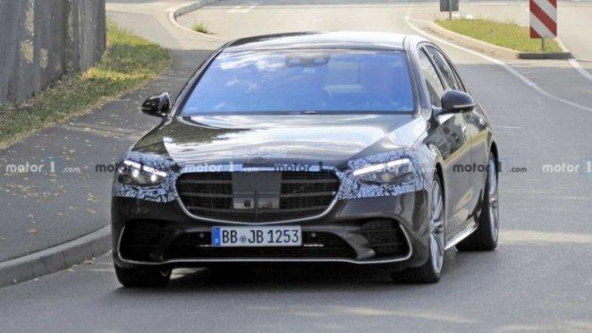 Новый Mercedes-Benz S-Кlassе станет ещё безопаснее