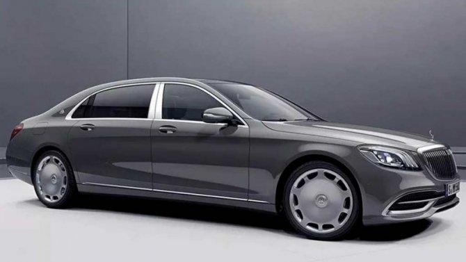 Mercedes-Maybach получил коллекционное исполнение