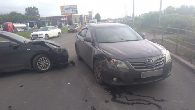Два человека пострадали в ДТП в Рязани