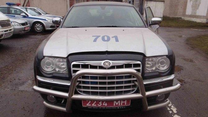 ВБеларуси продают автомобиль изпрезидентского кортежа
