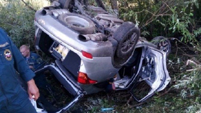 Два человека погибли в ДТП вКораблинском районе