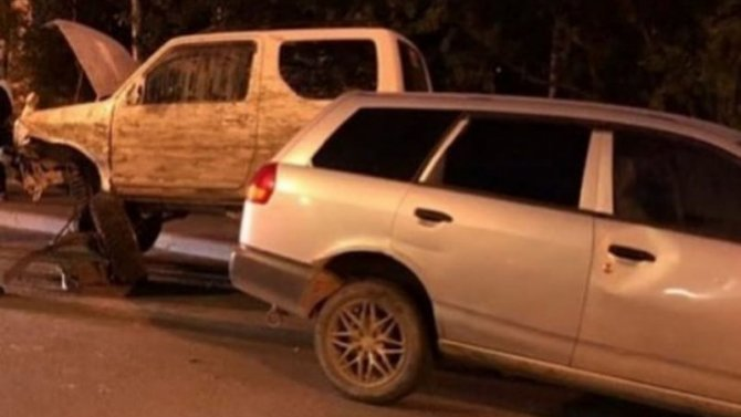 ВМагадане вДТП попала пьяная женщина без прав