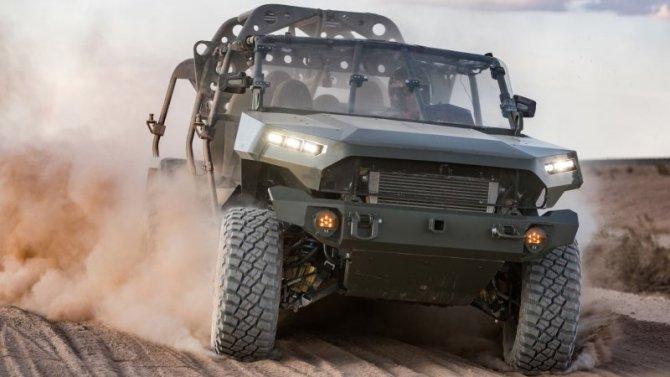 ВGeneral Motors разработали новый армейский внедорожник