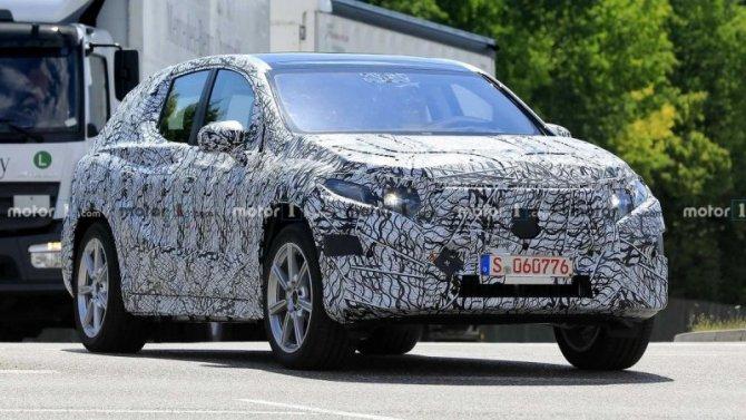 Начались испытания нового Mercedes-Benz EQS