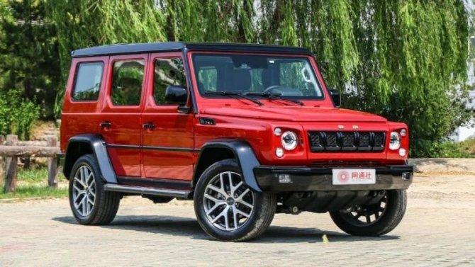 В Китае начались продажи нового Beijing BJ80