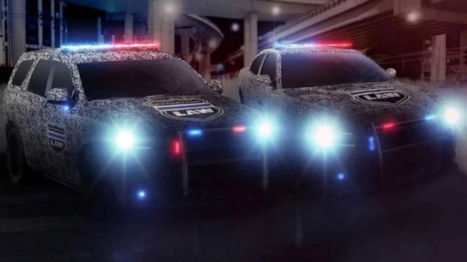 Dodge обновил свои полицейские модели