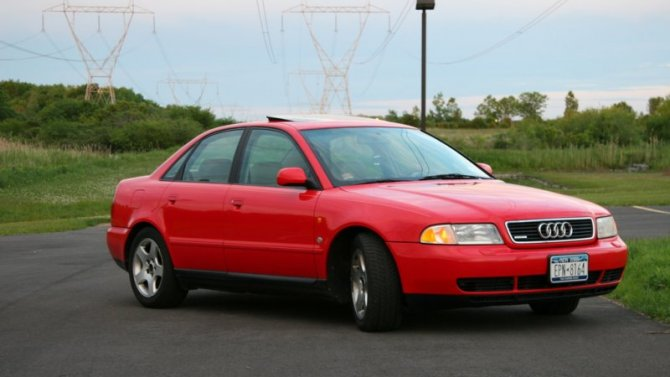 ВРоссии отзывают старые Audi