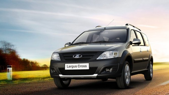Lada Largus Cross получит лимитированную версию Quest с другими дисками и рулём