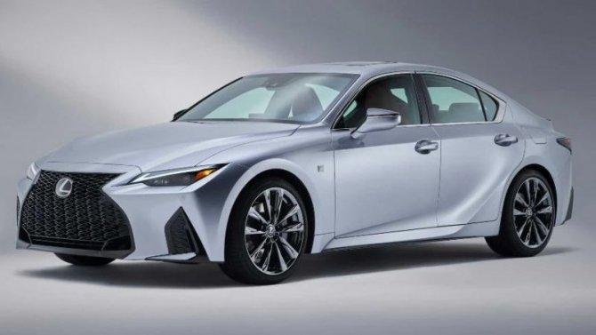 Запатентован седан LexusIS нового поколения