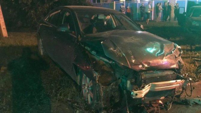 ВСтавропольском крае подросток устроил ДТП, угнав машину отца