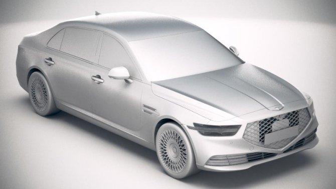 ВРоссии запатентованы названия для электромобилей Genesis