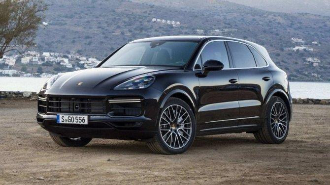 ВРоссии объявлен отзыв Porsche Cayenne