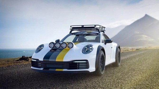 Porsche 911 станет внедорожником